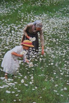 Pretty much how I imagine life as a Grandma...  still need to read this - Tasha Tudor's Garden | Design*Sponge