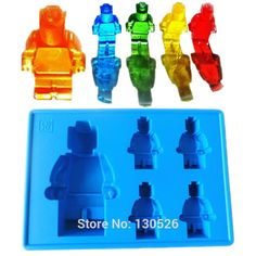 >> Click to Buy << Robot Lego Silicone Ice Cube Mold Cake Chocolate Mould Cookie Cooking Baking Pastry Tool DIY Kitchen Gadget Accessories Supplies #Affiliate