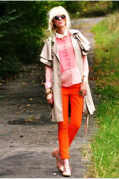 Coury Combs in Watermelon Fall. #fall #coat