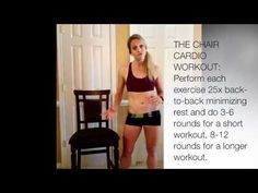 short gym couleur chair swivel next 56 best exercises with broken leg images work outs cardio how to get a workout when injured or seated at the office i trish blackwell