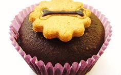 Bolinho/Muffin de Alfarroba, Mel e Gengibre.