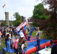 Our inflatable gladiator joust is available to book for your summer event in London & the UK.