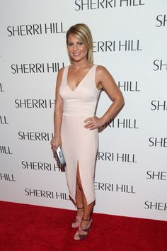 Candace Cameron Bure at Sherri Hill - The Best Front Row Fashions at New York…