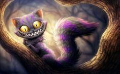 fantasy drôle chat souriant