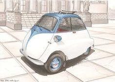 Want to discover art related to isetta? Check out inspiring examples of isetta artwork on DeviantArt, and get inspired by our community of talented artists. Vw Bus T2, Bmw Isetta, Microcar, 4 Wheelers, Teardrop Trailer, Automotive Art, Car Humor, Retro Cars, Dieselpunk