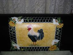 Hand Painted Mailbox with French Country by PaulasCottageCharm, $95.95
