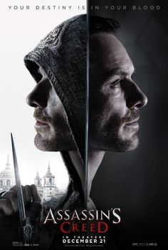 Final trailer, clips, images and posters for ASSASSIN'S CREED starring Michael Fassbender, Marion Cotillard and Jeremy Irons. The Assassin, Assassins Creed, Assasins Creed Movie, 10 Film, Film Serie, Full Film, Assassin's Creed Hd, Assassin's Creed Film, Sci Fi Movies