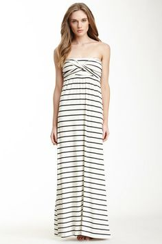 S.H.E. Wrap Bust Maxi Dress by S.H.E. on @HauteLook
