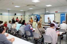 Una delegación del Servicio Público de Empleo de Rumanía visita el CIFE de Fuenlabrada