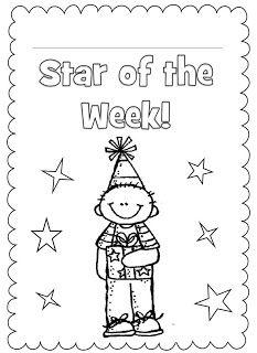 Star of the Week! FREEBIE