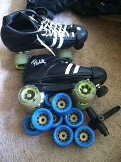 How to Change/swap the Wheels on Your Roller Skates #skate