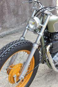 Honda By Gravel Crew Hell Kustom Cafe Bike, Cafe Racer Bikes, Honda Cb400, Custom Garages, Custom Cafe Racer, Bobber Chopper, Custom Metal, Custom Motorcycles, Kustom