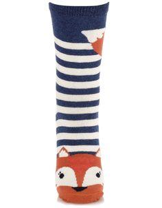 Francoise Fox Face Socks | Accessorize