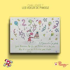 Les voeux de Piwooz #Piwooz #challenge #Dessin #amour #2021 #coloriage #couleur #citation Challenges, Electronics, Coloring Pages, Love, Quote, Color, Drawing Drawing, Consumer Electronics