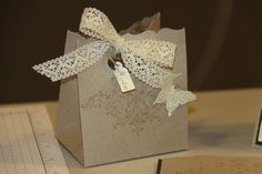 Bliss Box by Stampin Kari - Cards and Paper Crafts at Splitcoaststampers BigZ XL Fancy Fancy Favor