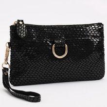 Fashion Snake skin Genuine cow Leather Women's Purse/Clutch Evening Bag handbag