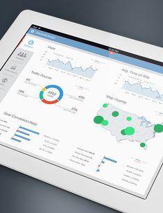 20+ Awesome #Dashboard #Designs That Will Inspire You. Read More - http://designrfix.com/design/dashboard-design