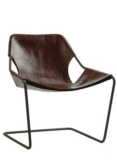 Paulistano chair - Cognac leather cover — Bodie and Fou - Award-winning inspiring concept store