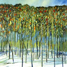 Ford Smith Limited Edition Giclees - Spontaneous Frost #tree #art