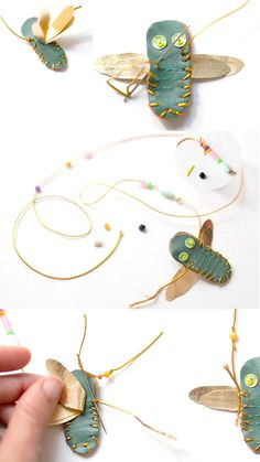 Make Your Own DIY Dragonfly Necklace