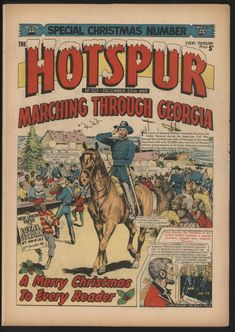 ITEM : The Hotspur Comic December a Christmas issue. This is a significant collection of British comics from the late put together over many years, noted in many cases for exceptional condition. Spitfire Airplane, Old Comics, Old Newspaper, December 25, My Youth, Teenage Years, My Memory, The Good Old Days, Origins