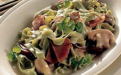 Svampesauce til pasta Brug også denne svampesauce til mørbrad a la creme - eller som tilbehør til en god bøf.