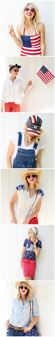 Find your cute and festive 4th of July outfit! These chic and classy ideas for women will help you celebrate at your next party!