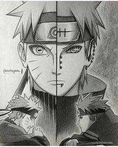 Naruto & Nagato- The sibling disciple       Credits- @arteyata