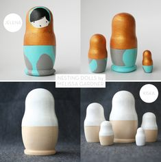 Modern Nesting Dolls :: Nushka - MAIYA - MY ADVENTURE IS YOUR ADVANTAGE :: ART / DESIGN / FASHION / DECOR