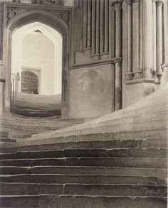 Stone Staircase Detail Frederick H. Evans - Sea of Steps, 1901
