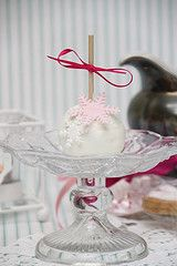 Cake-Pops Snowflake