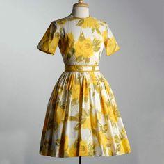 1950s Summer Day Dress