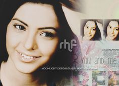 A cute wallpaper on the gorgeous actress aamna sharif