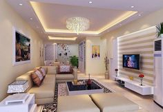 Simple Ceiling Design Ideas For Living Room Impressive Living Room Ceiling Designs You Need To See Tv Awesome Ceiling Living Room Designs Ceiling Design Living Latest 35 Living Room Interior Designs Simple Ceiling Design, House Ceiling Design, Ceiling Design Living Room, False Ceiling Living Room, Home Ceiling, Living Room Lighting, Living Room Designs, Ceiling Lights, Room Lights