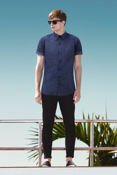 Think navy and black don't mix. Think again. #newlook #menswear