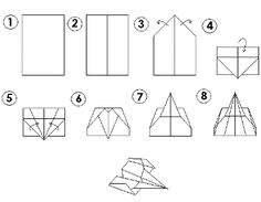 paper airplanes designs - paper airplane designs distance | crafts ...