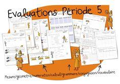 Evaluations : Période 5 - Bout de gomme