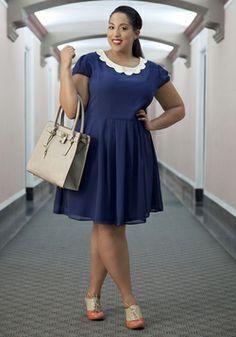 Surprise Me Dress in Plus Size, #ModCloth