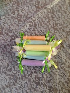 Chalk wrapped like candy