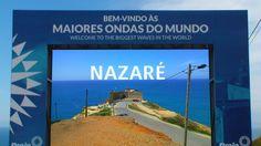 NAZARÉ, PORTUGAL: Praia do Norte + Farol + Paisagem | Videos de Portugal