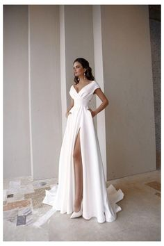 Bohemian Wedding Dresses, Dream Wedding Dresses, Bridal Dresses, Prom Dresses, Formal Dresses, After Wedding Dress, Plain Wedding Dress, Simple Wedding Gowns, Elegant Party Dresses
