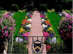The Famous #Gardens of #Cranbrook in Bloomfield Hills, Michigan