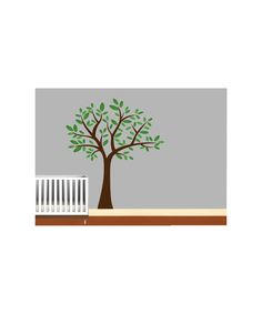 Boys Animal Wall Art Tree Decal  Nursery by NurseryWallArt on Etsy, $79.99