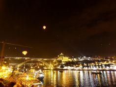 Rio Douro, Serra do Pilar e Ponte D. Luís (Porto)