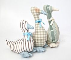 Gorgeous duck door stops: