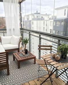 Small balcony ideas, balcony ideas apartment, cozy balcony design, outdoor balcony, balcony ideas on a budget Condo Balcony, Apartment Balcony Decorating, Apartment Balconies, Apartment Living, Balcony Window, Apartment Design, Interior Balcony, Balcony Railing, Porch Decorating