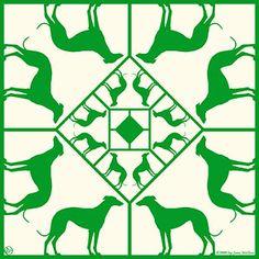 greyhound print