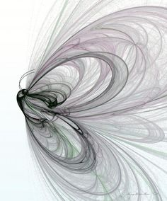 Abstracted butterfly wings. Would make a pretty awesome tattoo I think