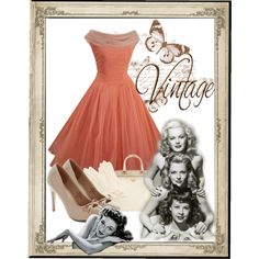 """Vintage"" by cavell on Polyvore"