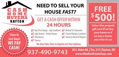 """SELL MY HOUSE FAST DAYTON OHIO:  Are you saying to yourself, """"I need to sell my home fast in Dayton Ohio?"""" We buy homes fast for cash in Dayton Ohio and surrounding cities. Contact the """"Ohio Real Estate Guys"""" at (937) 490-9743"""